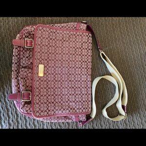 Coach Signature Collection Messenger Bag